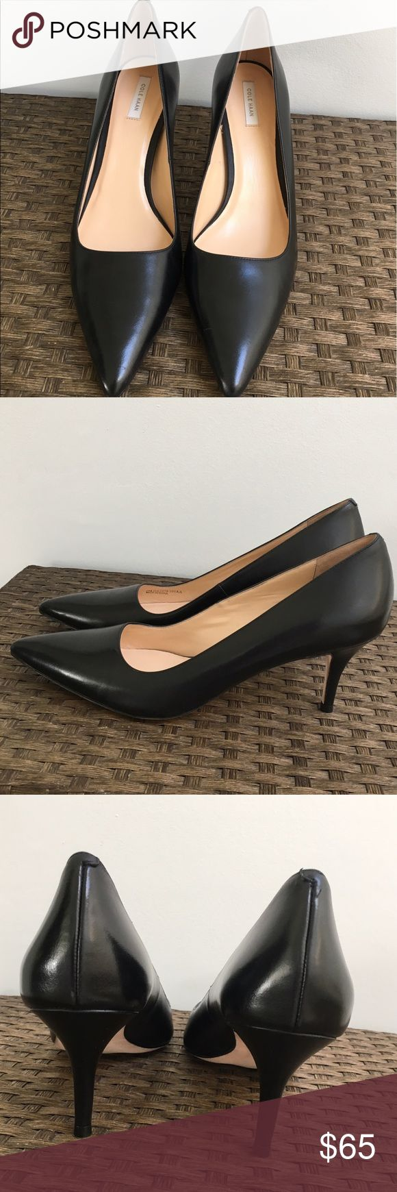 Brand New Cole Haan Pumps Brand New Cole Haan Bradshaw Pumps 3 inch heel, they come with the original box and extra heel tips.  Open to offers! Cole Haan Shoes Heels