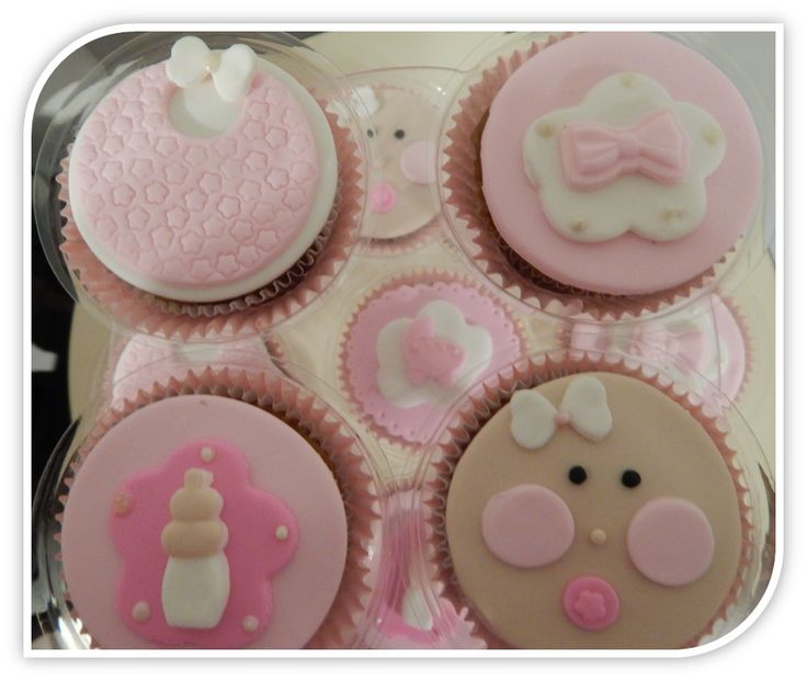 Cucpakes para baby Shower.