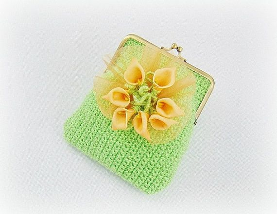 Green clutch green purse formal clutch bridesmaid by styledonna
