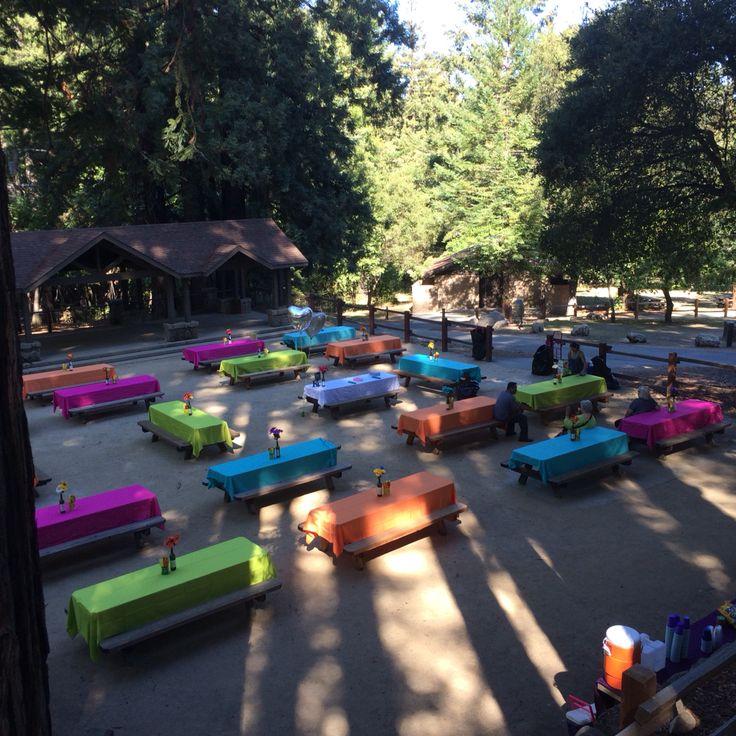 Amazing set up at Sanborn Park!