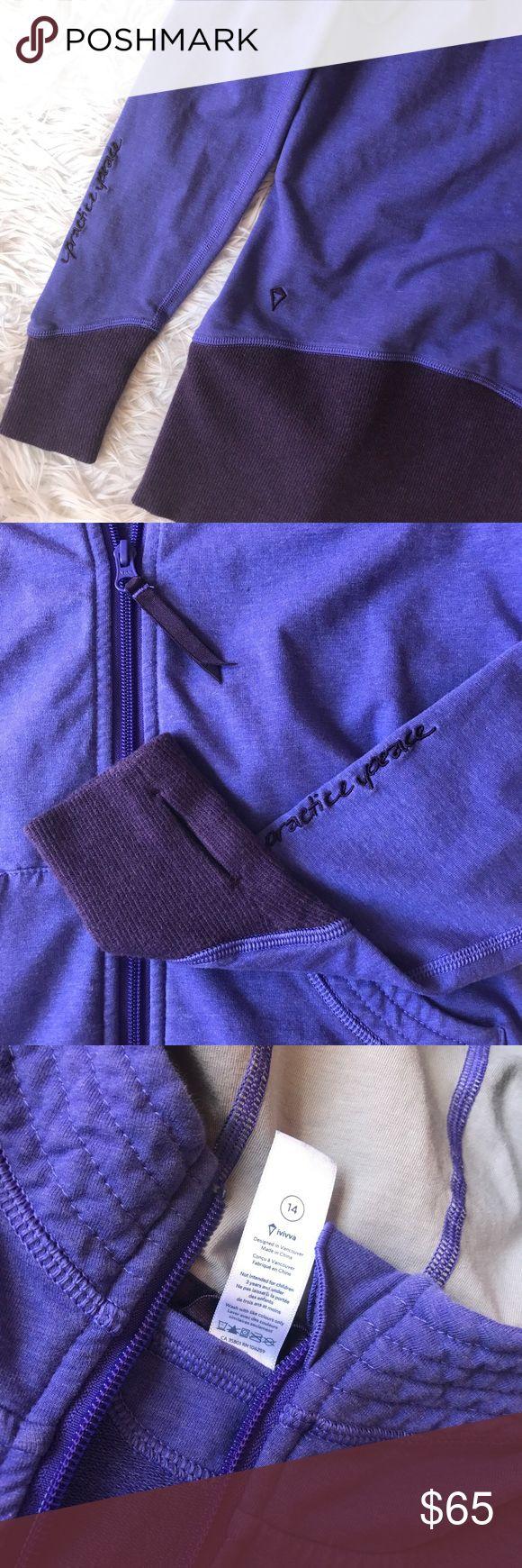 • Ivivva • Lululemon Kids Jacket Lululemon kids jacket with thumbhole detail! Ivivva Jackets & Coats