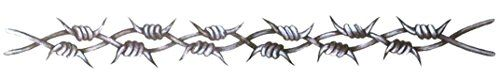 Grey Barbed Wire Lower Back Temporary Body Art Tattoos 1.... http://www.amazon.com/dp/B008K4NF6E/ref=cm_sw_r_pi_dp_Jt5ixb0NK0T82 #temporarytattoo #bodyart #inked #barbedwire