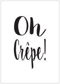 Kaart Oh crepe!
