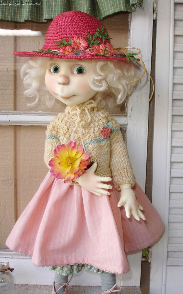 """Summer's End"" Fits Connie Lowe Doll 16"" Eppie & Marta 5 pc.Knit and Crochet!"