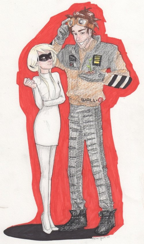 walle and eve, blaire and Prosper, burdge bug
