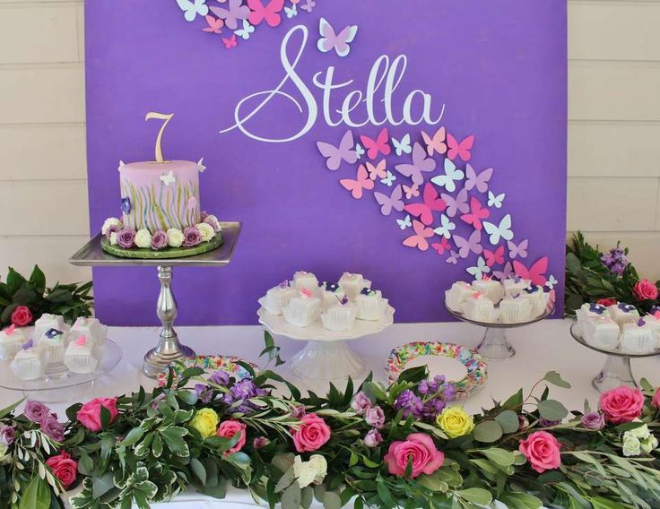 27 best Butterfly Birthday Party Ideas Decoration images on