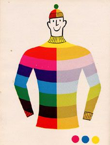 Tom Eckersley - like the use of bright colors with outline accents