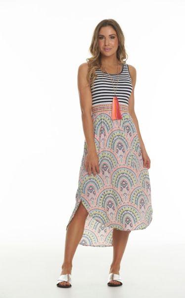 Charlo Sirry Midi Dress