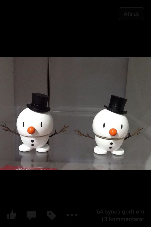Mr. Snowman, come live with me...