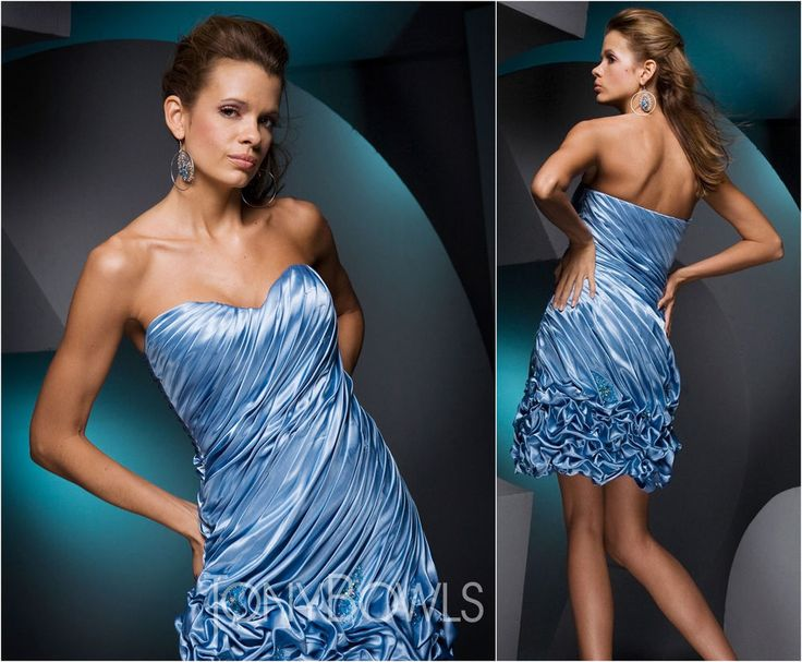 TONY BOWLS 6 Dress PROM Le Gala Evening Cocktail Formal Blue Beaded NWT  #TonyBowls #Sheath #Cocktail