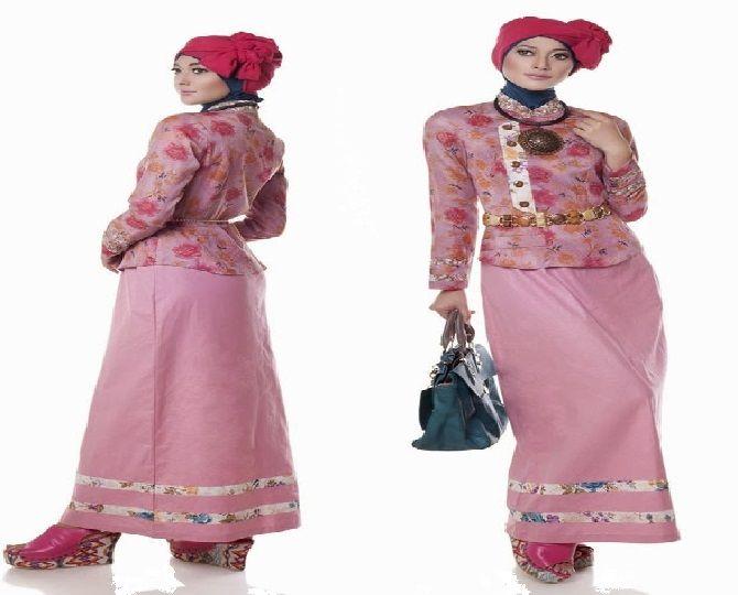 Model Baju Muslim untuk Acara Resepsi Pernikahan