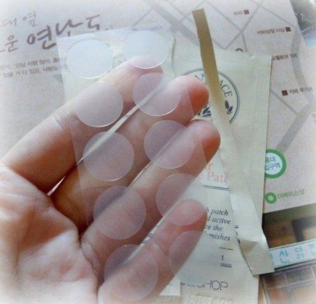Cartela de adesivos p/ espinhas Clean Face (The Face Shop)