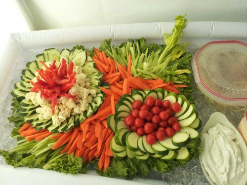 Vegetable Tray for a Party, No. 2