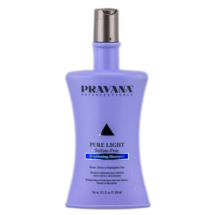 Pravana Pure Light Sulfate-Free Brightening Shampoo