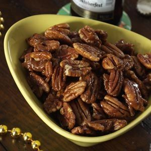 Candied Pumpkin Spice Pecans Recipe from Taste of Home -- shared by Julie Puderbaugh of Berwick, Pennsylvania