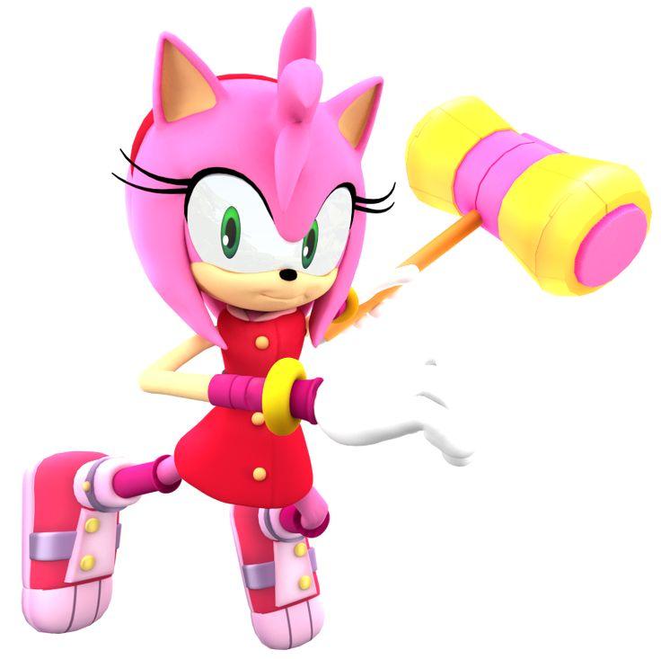 Gambar Kartun Sonic Knuckles: Amy Rose Sonic Boom Sonic Pinterest Amy Rose Sonic Boom