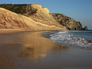 Praia da Luz, Portugal. My summer vacation every year growing up...paradise