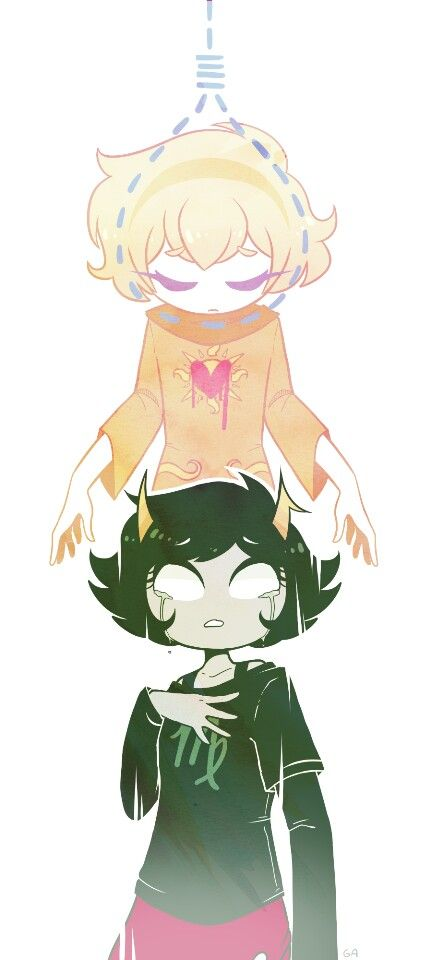 Homestuck rose and kanaya by herblesbian  (I love this artist's work!)