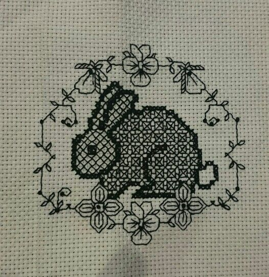My first blackwork :-)