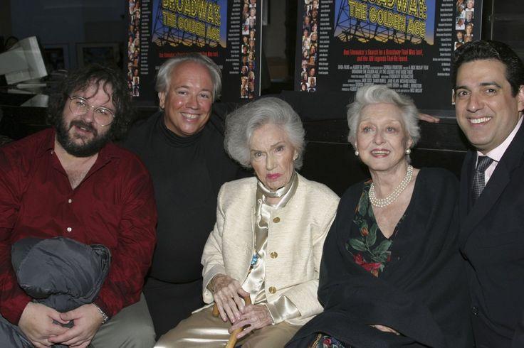 Fay Wray - June 2004 Peter Jackson, Celeste Holm, Fay Wray, Rick McKay, and Frank Basile