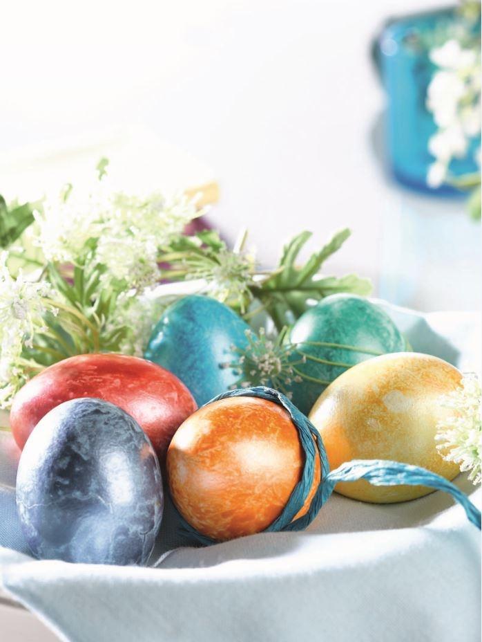 Farby do zdobienia jajek by Lidl.