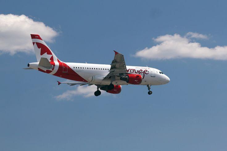 Air Canada Rouge Airbus A319