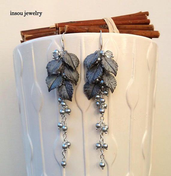 Silver Earrings Long Earrings Silver Earrings For Women