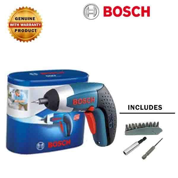 Bosch Ixo Iii 3 6 V Cordless Battery Screwdriver Bosch Bosch Tools Cordless