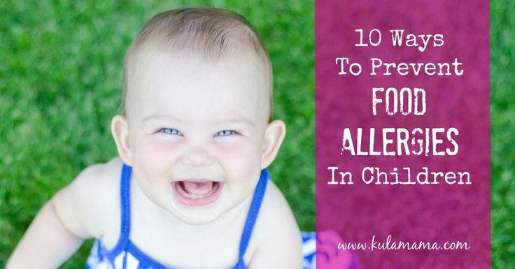 Natural Ways To Treat Allergies In Babies