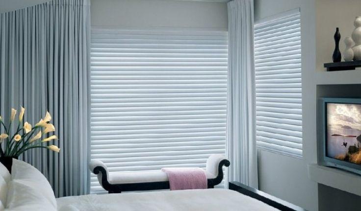 3 níveis de privacidade, escurecimento e visibilidade para os mais diversos estilos de decoração. Cortina Silhouette - HunterDouglas - Soho Design.