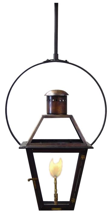 51 best lights outdoor images on pinterest gas lanterns french quarter lantern on a yoke bracket large photograph aloadofball Image collections