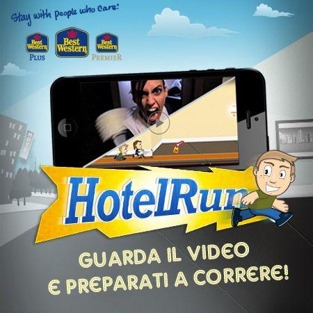 E' arrivato HotelRun, il game per iPhone e Android che ti fa vincere fantastici premi.  Corri più veloce che puoi, scala la classifica  e.. Scorpi di più! #game #mobile #classifica #premi #HotelRun