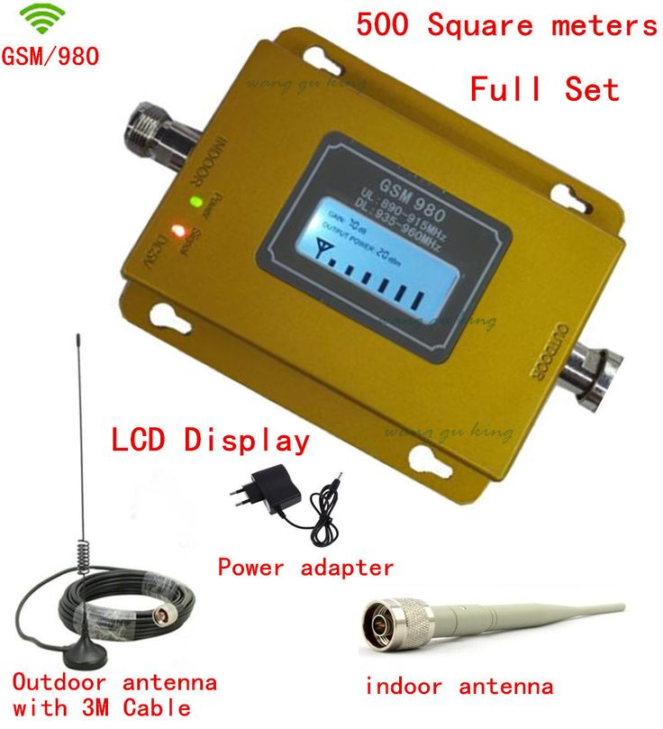 >> Click to Buy << For Russia LCD booster! GSM 980 900mh cell phone signal booster repeater amplifier ,mobile signal repeater gsm booster + antenna #Affiliate