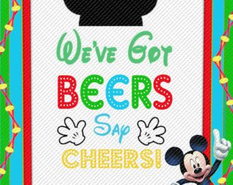 Hot Diggity Dog Bar Oh Toodles Mickey Mouse by DigitalDiva007