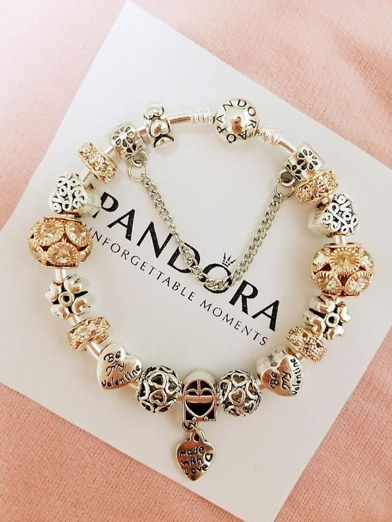 20cm Silver Plated Fashion Charm Bracelet with LOVE STORY Blue European Charm