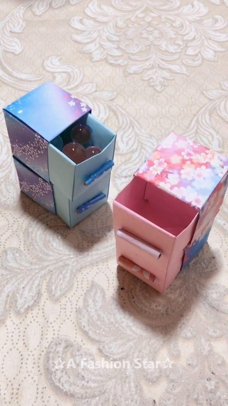 Cute Paper Storage Boxes DIY – ✰A Fashion Star✰