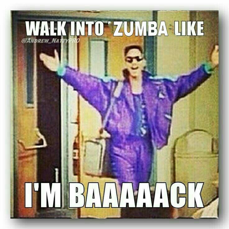 Tuesday Morning Zumba, YAY!!!  <3