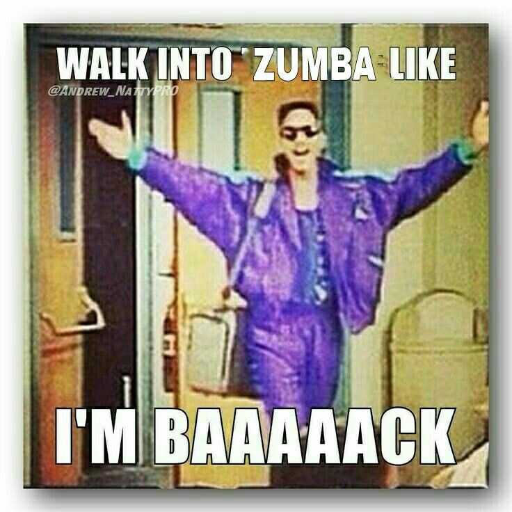 Tuesday Morning Zumba, YAY!!!  <3