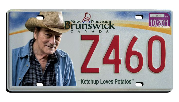 Stompin' Tom license plate
