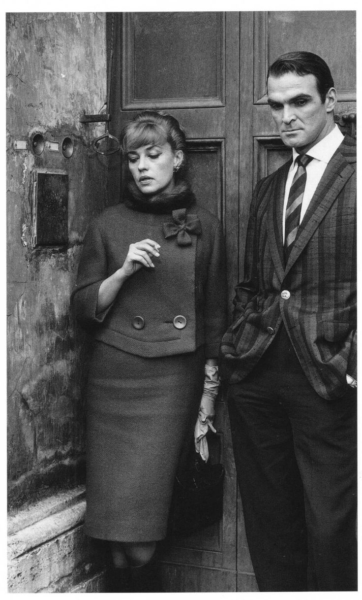 Jeanne Moreau and Stanley Baker in Eva directed by Joseph Losey, 1962.