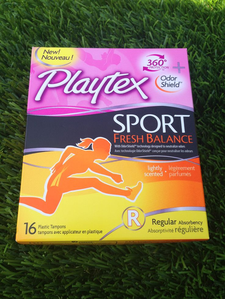 Playtex Sport Fresh Balance, I've always been a loyal tampax girl but these are just too comfortable. I didn't realize you could use a tampon and not feel like you were using one!! Influenster never seems to fail to send me relevant products to test out! Thanks for helping me find something better once again!