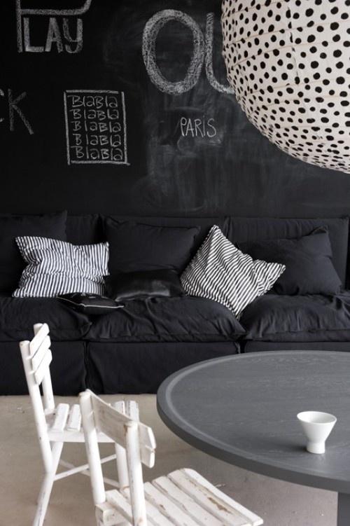 black on black |stylelifehome.com.au |