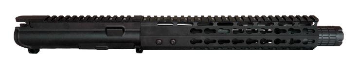 "AR-15 UPPER ASSEMBLY - 7.5"" / 300 AAC / LINEAR COMP / 10"" CBC KEYMOD GEN 2 AR-15 HANDGUARD / RAIL"