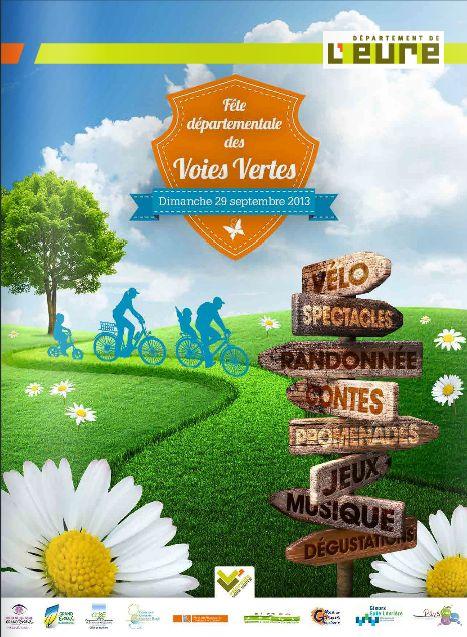 Fête départementales des Voies Vertes. Cliquez sur l'image et découvrez le programme.