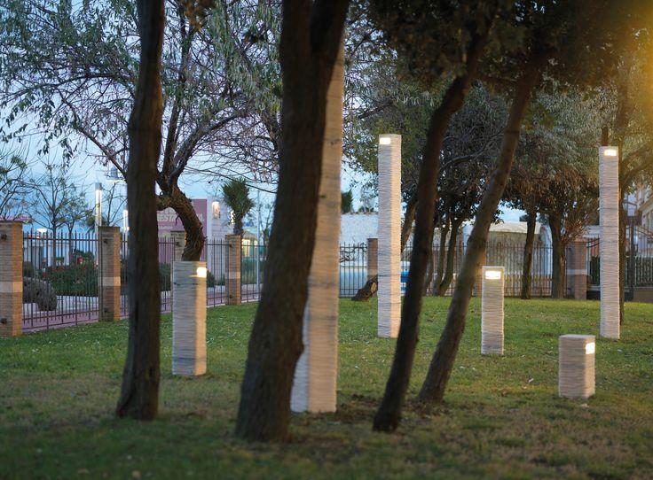 STRATO OUT   Marble Lamp   Lampada da terra per esterni a Led by Marmi Serafini   Design Raffaello Galiotto   www.serafiniluce.it
