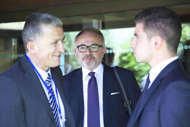 Giuseppe Acconcia (Socio Wision55), Ottavio Ruggiero (Socio Wision55), Alessio Costa (Founder W55)