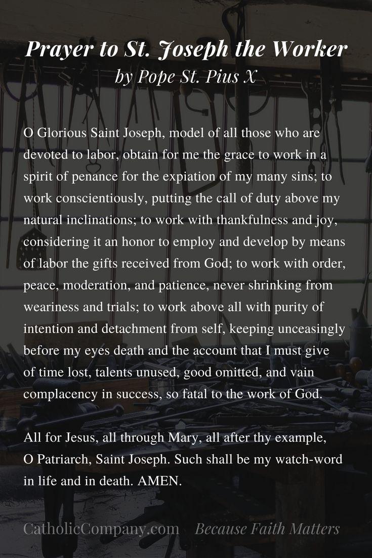 best 25+ st joseph prayer ideas on pinterest | saint joseph, st