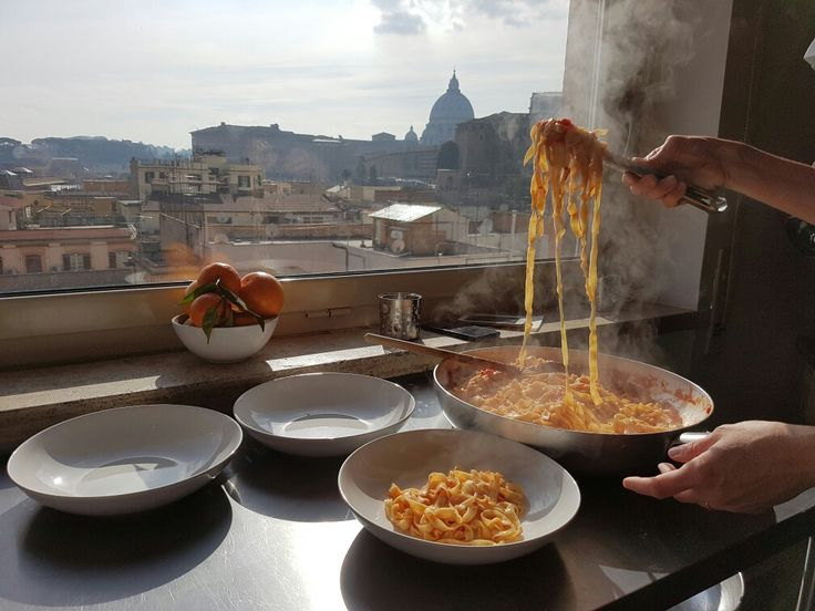 Our cooking class comes with a view! #localaromas