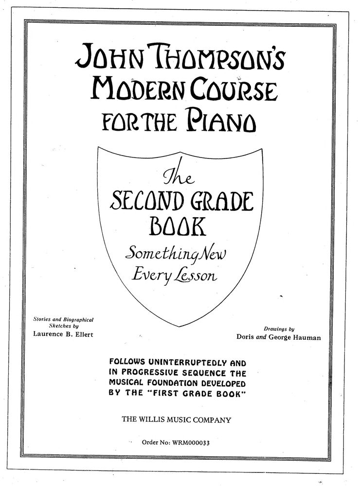 John Thompson Modern Course For Piano