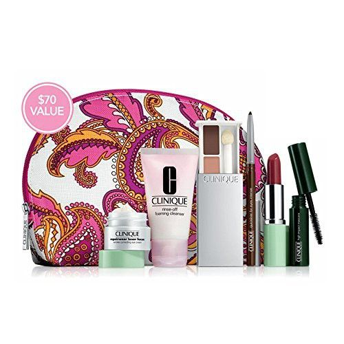 Clinique 7pc Skin Care and Makeup Gift Set Worth $70